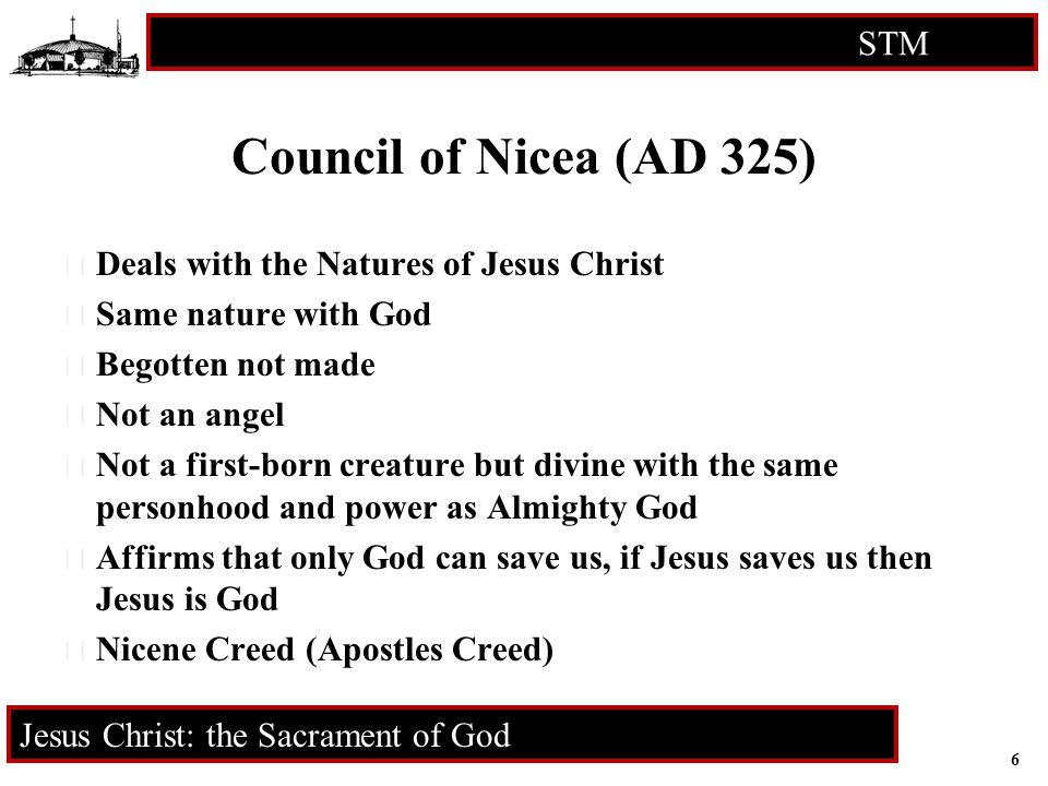 7 STM RCIA Jesus Christ: the Sacrament of God ? ? ? Q U E S T I O N S ? ? ?