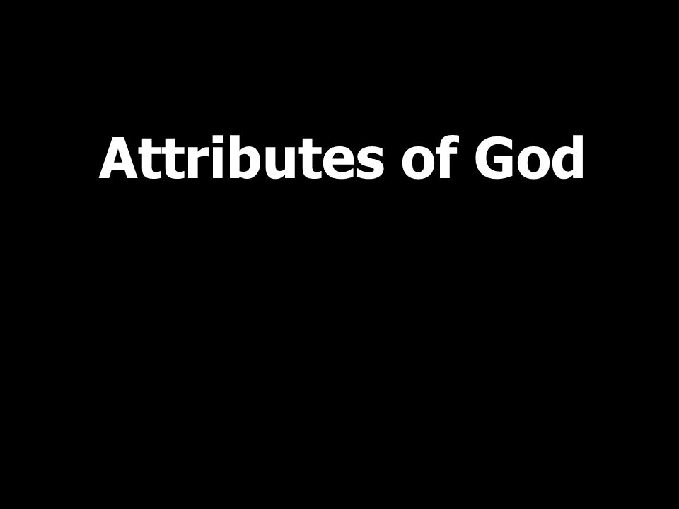 Unchangeableness: God is unchanging in his being, perfections, purposes, and promises, yet God does act and feel emotions, and he acts and feels differently in response to different situations.