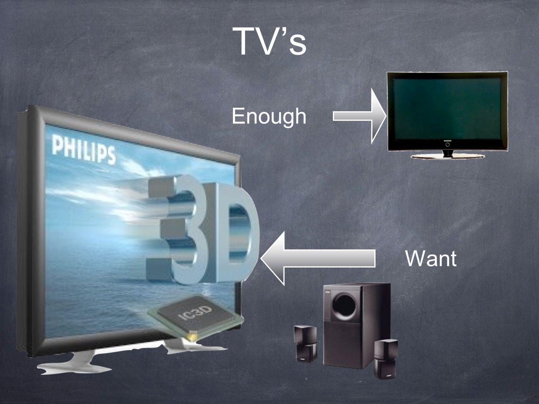 TV's Enough Want