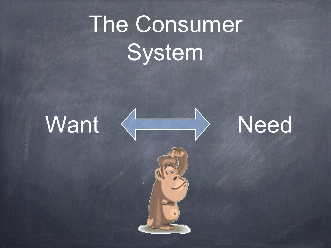 The Consumer System WantNeed