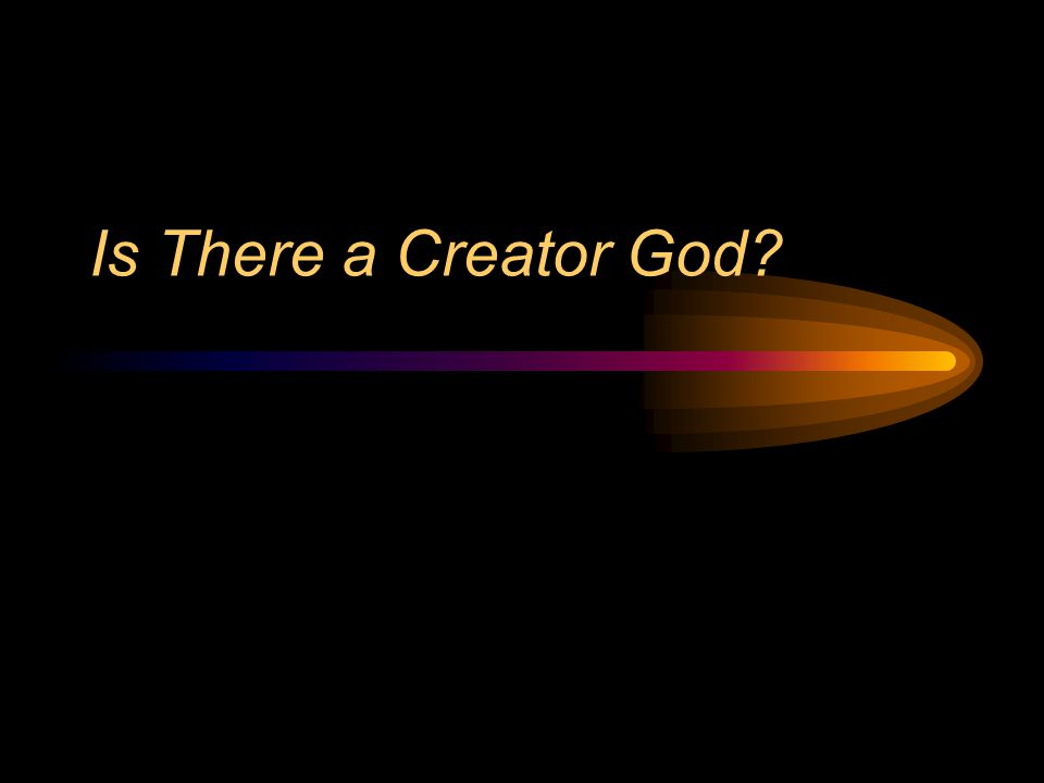 Main Implications: 1.What do we know about God.