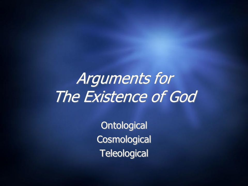God's Existence  Not subjective  Not unprovable in principle  Natural Theology: Knowing God through reason  Biblical Theology: Knowing God through revelation  Not subjective  Not unprovable in principle  Natural Theology: Knowing God through reason  Biblical Theology: Knowing God through revelation