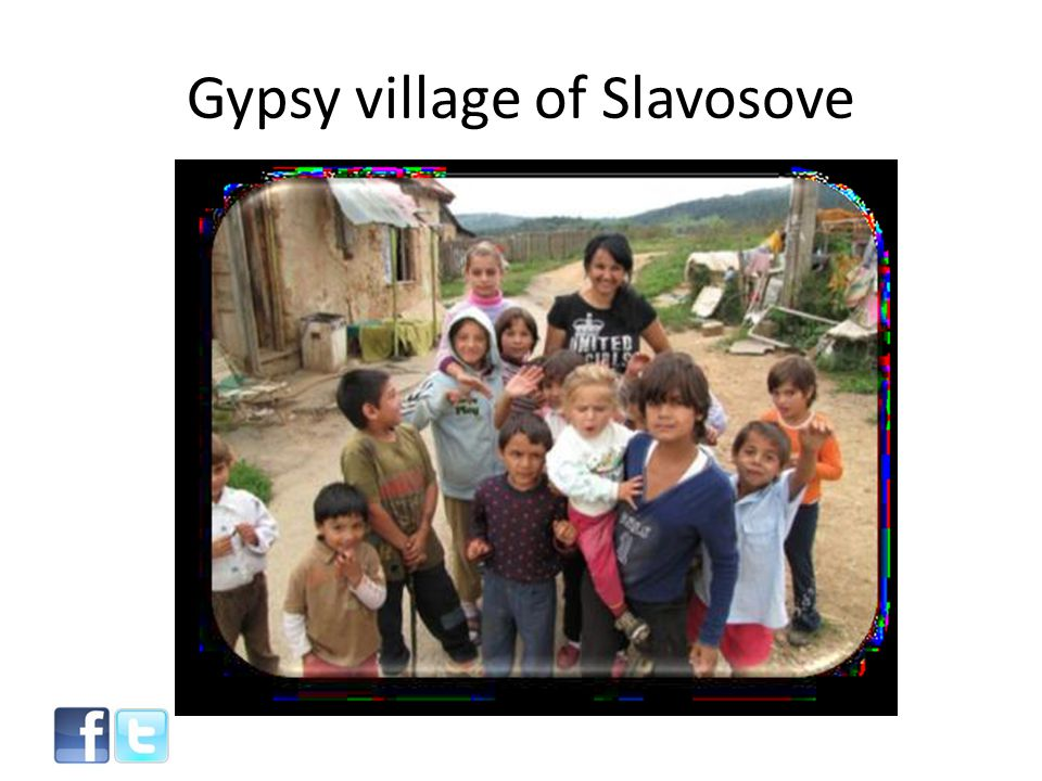 Gypsy village of Slavosove