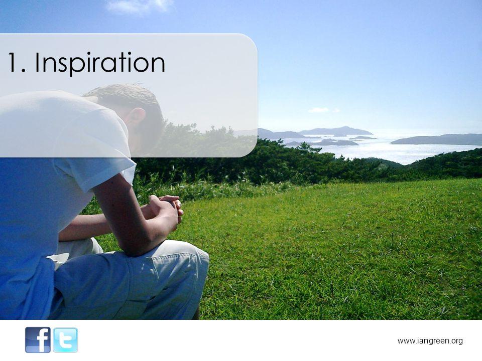 1. Inspiration