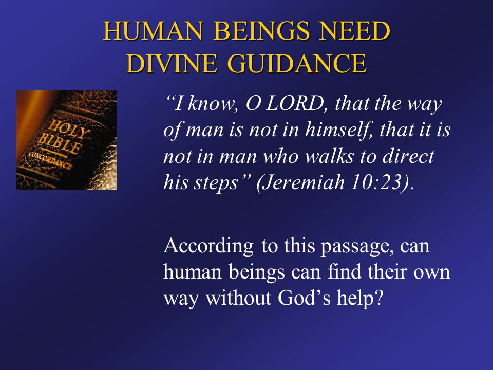 THE NEW TESTAMENT SHOWS HUMAN BEINGS HOW TO RECEIVE THE SALVATION GOD HAS PROVIDED How does one get into Christ.