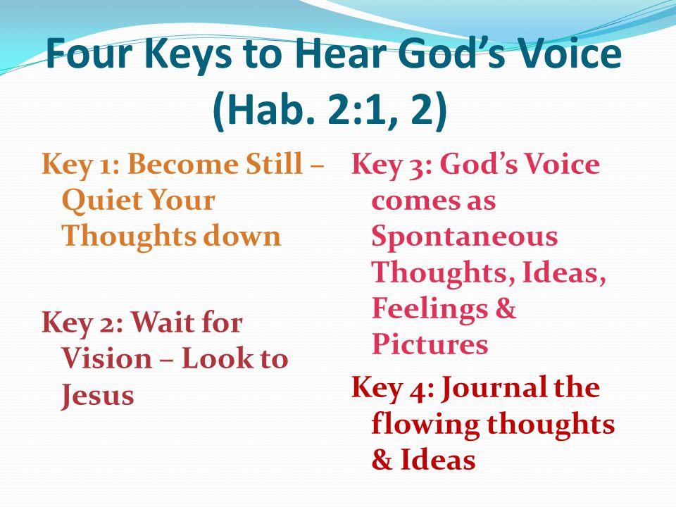 Four Keys to Hear God's Voice (Hab.