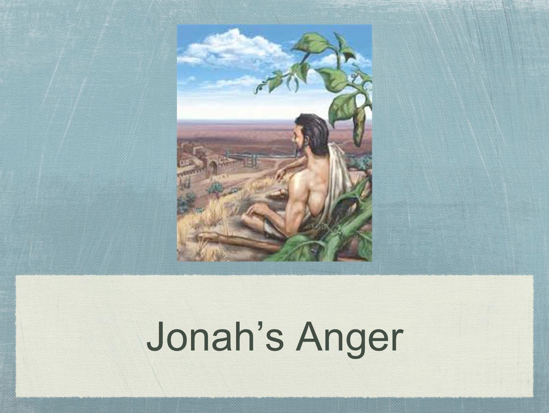 Jonah's Anger