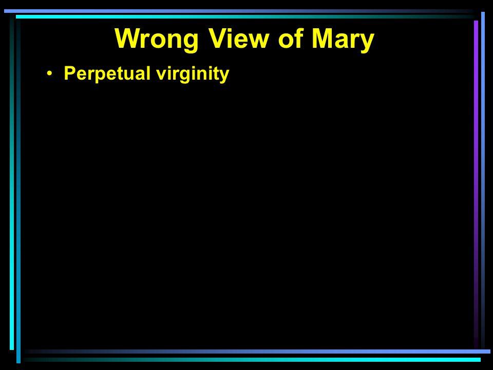 Perpetual virginity