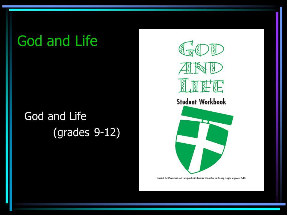 God and Life (grades 9-12)