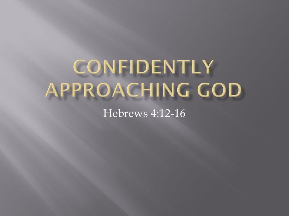 Hebrews 4:12-16