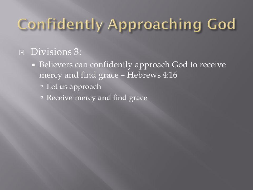  Conclusion:  sWord  Omniscience  Faith  Relationship  Rest