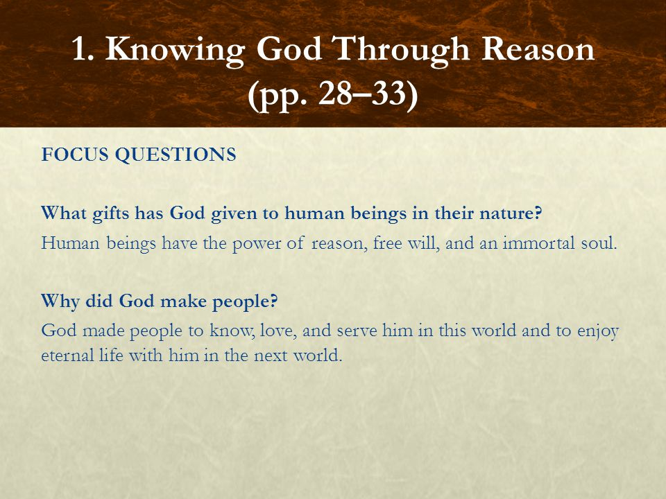 FOCUS QUESTIONS What is the source of the Old Testament canon.