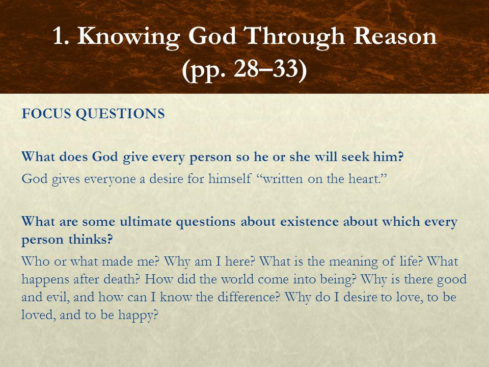 FOCUS QUESTIONS What is a prophet.