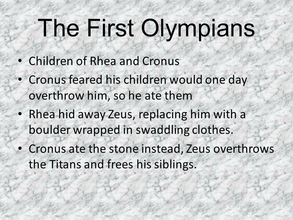 Dionysus Son of Zeus God of wine, celebrations, ritual madness.