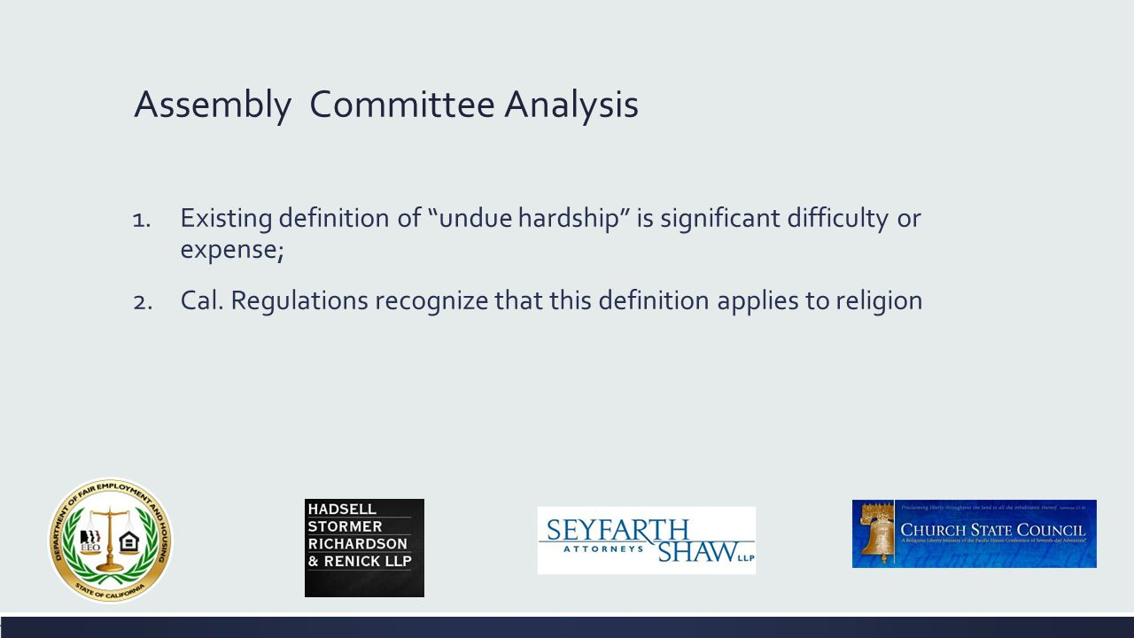Assembly Judiciary Committee Analysis COMMENTS: The author explains the reason for the bill as follows: