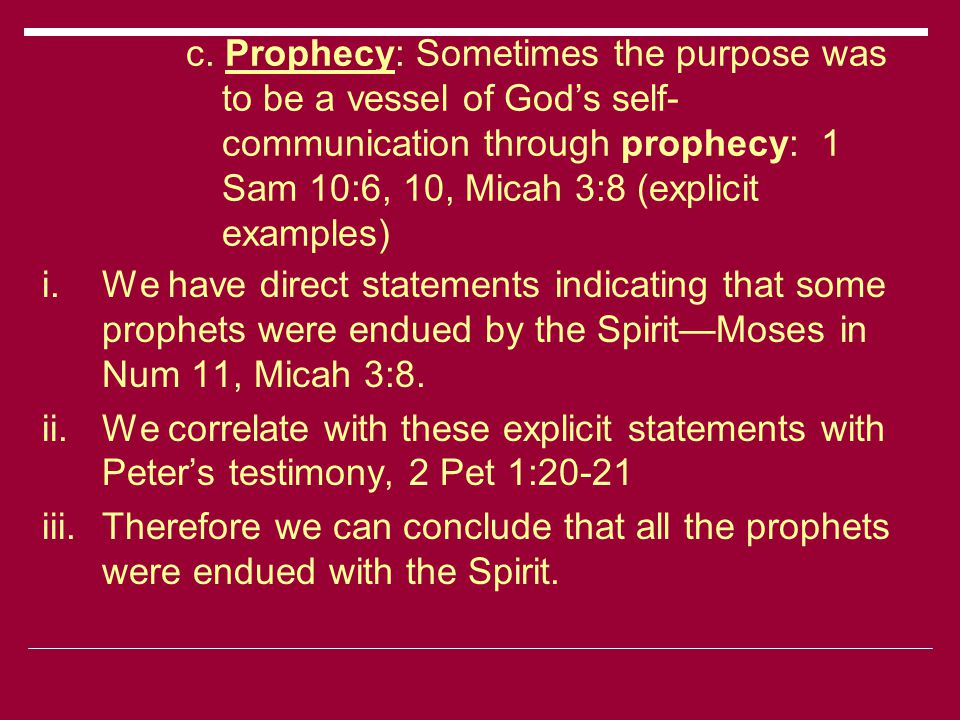 Why the Cessation: Completeness of the Word of God