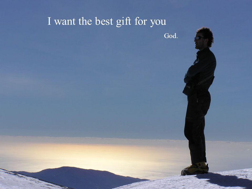 Trust in me God.