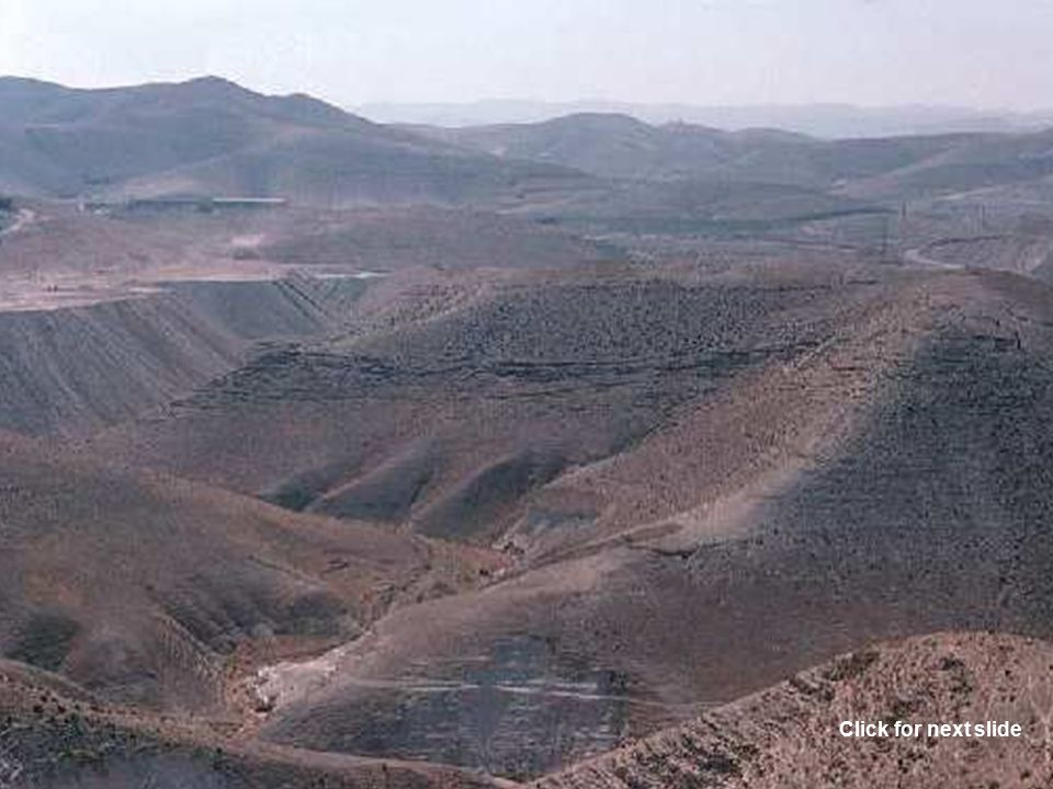Gerar Beersheba Genesis 22:4 On the third day, Abraham saw the place afar off.