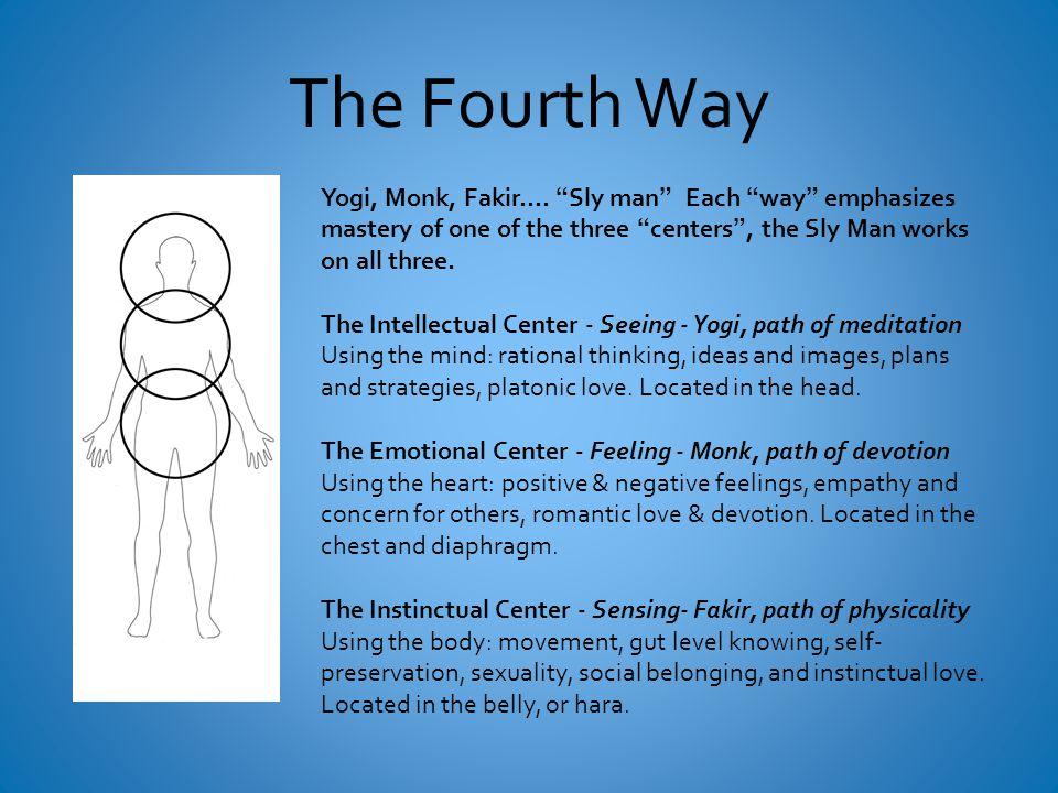 The Fourth Way Yogi, Monk, Fakir….