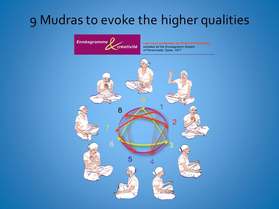 9 Mudras to evoke the higher qualities