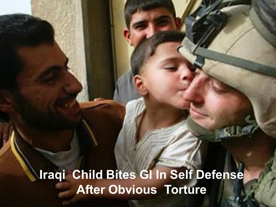 GOD BLESS OUR TROOPS Proof of abuse by our Troops....things the media missed.