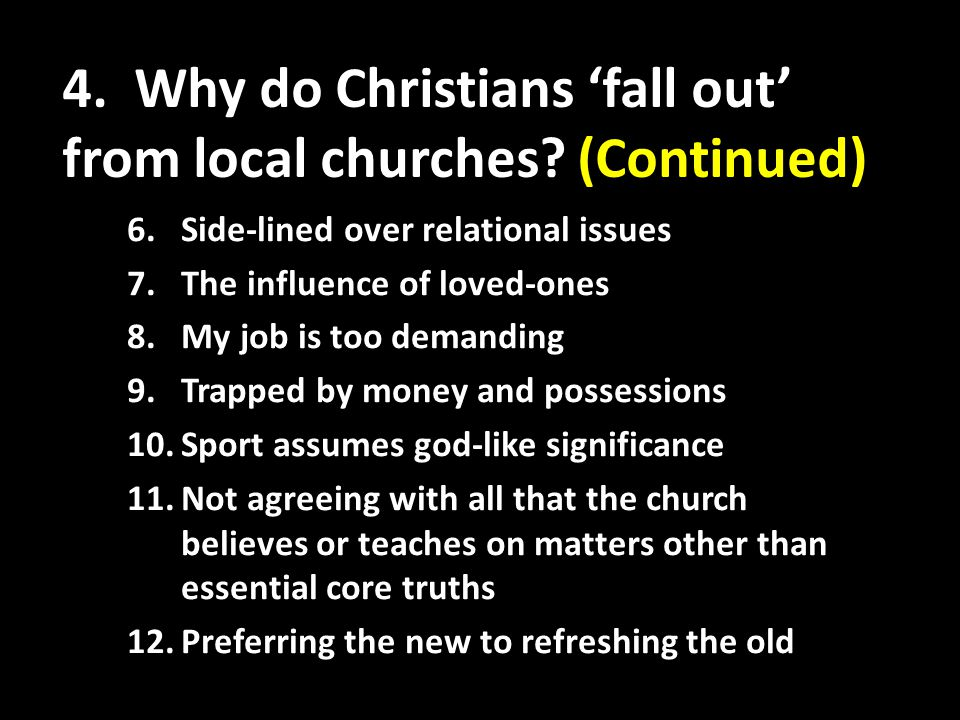 5.What is a local church according to the Bible.