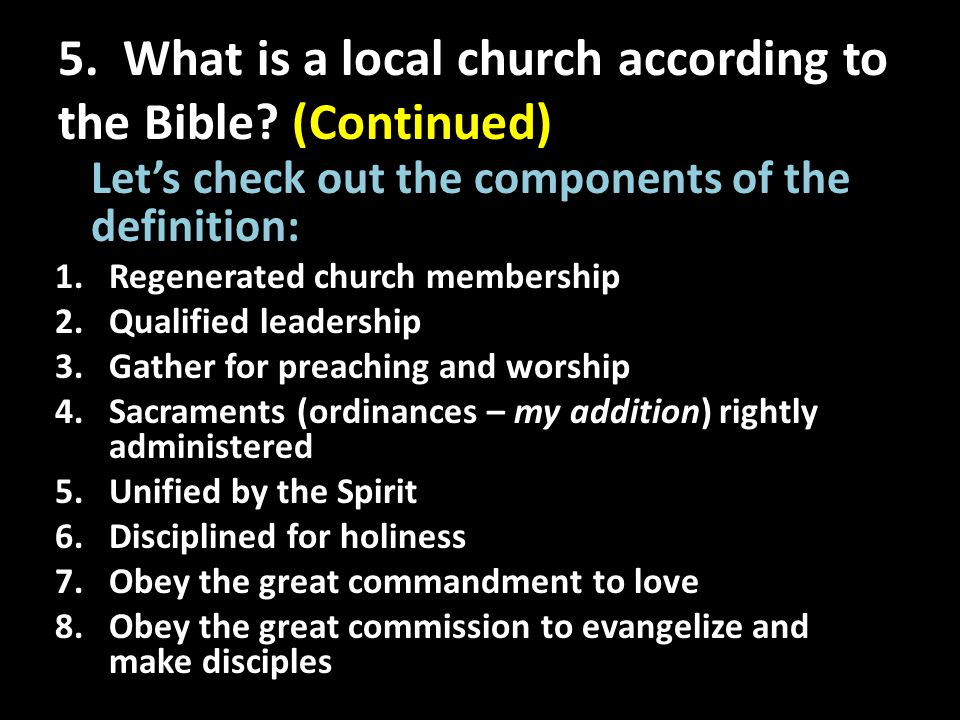 6.For evaluation: 1.Am I a Christian according to the Bible's description.
