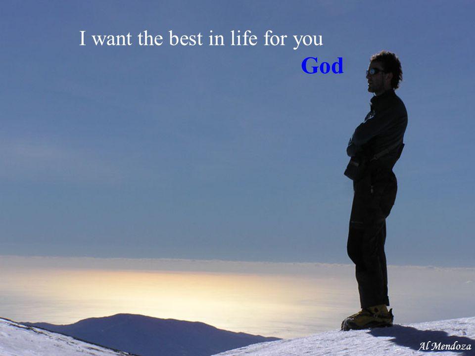 Trust in me God