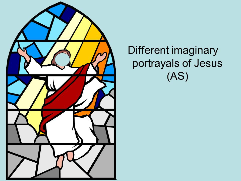 Different imaginary portrayals of Jesus (AS)