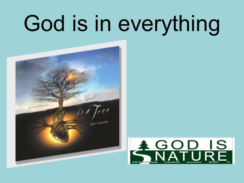 God is in everything