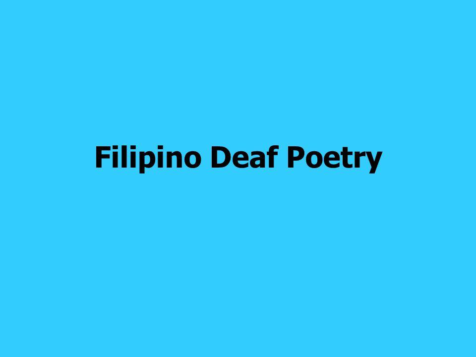 Filipino Deaf Poetry