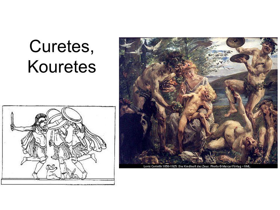 Curetes, Kouretes