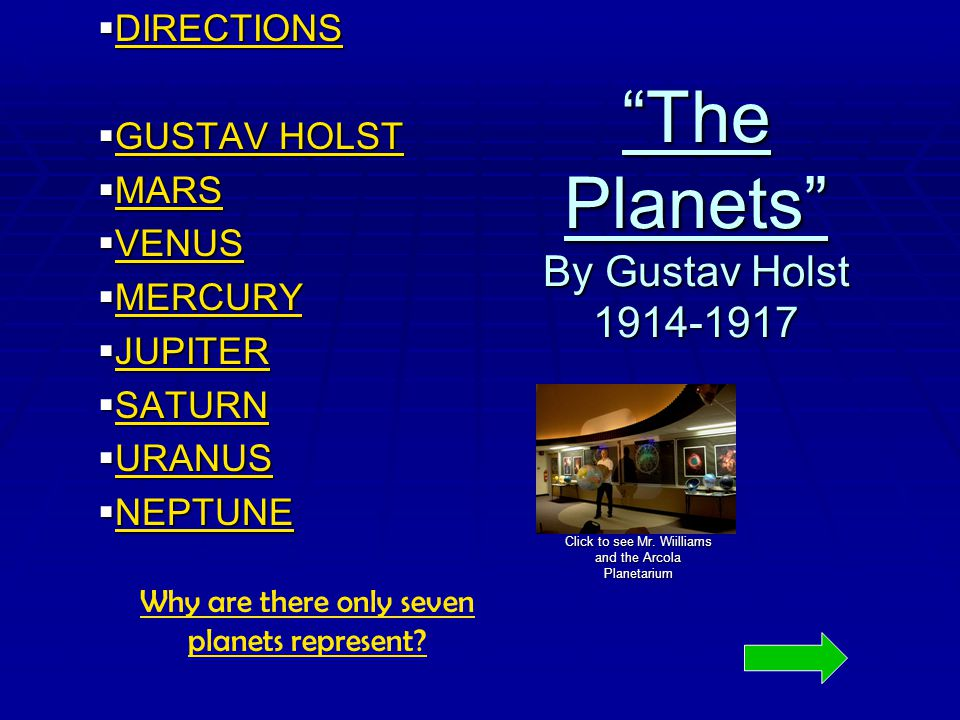 Gustav Holst The Planets A Suite For Large Orchestra By Eddie McCaffrey