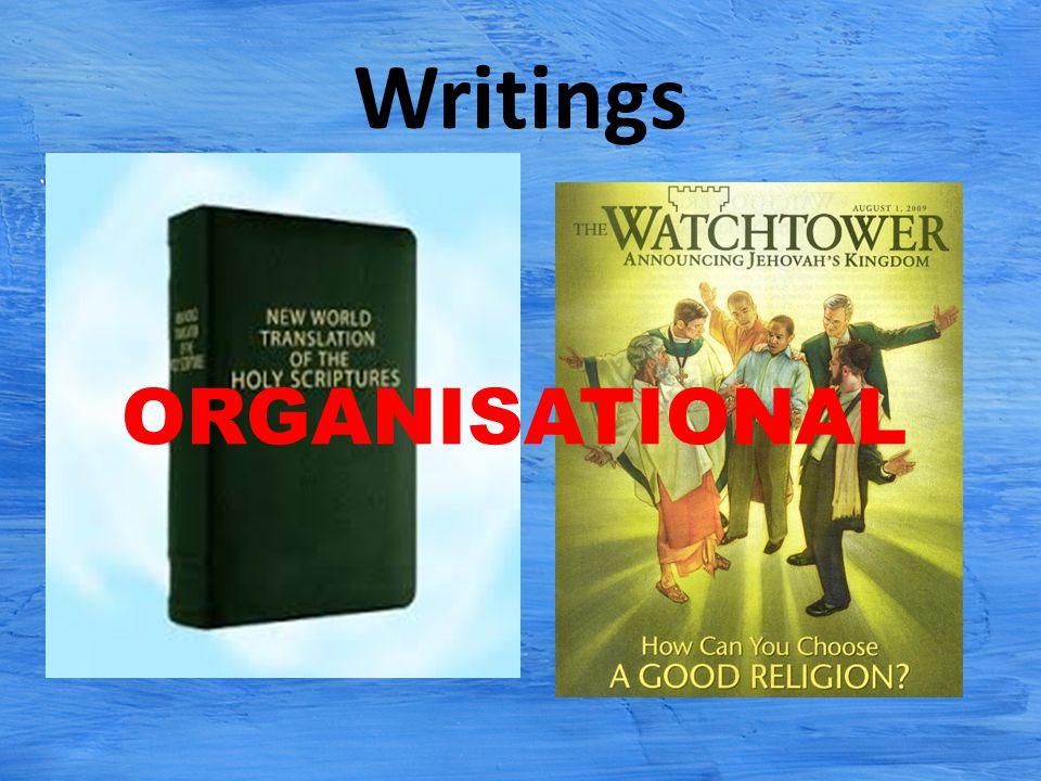 Writings ORGANISATIONAL