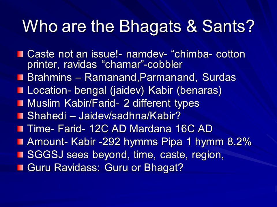 Collection of Bhagat Bani .