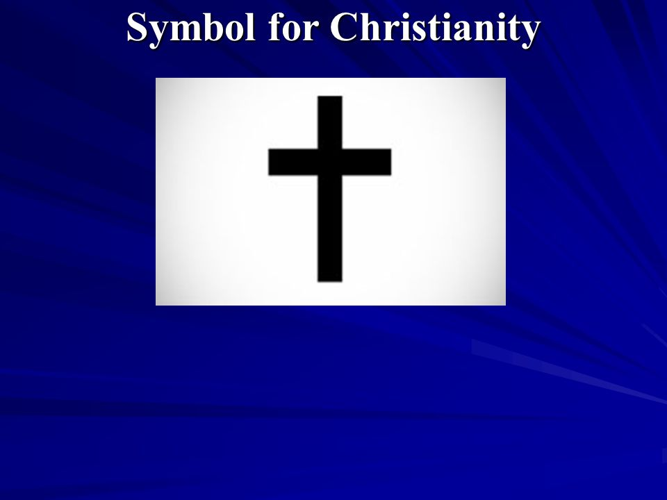 Symbol for Christianity