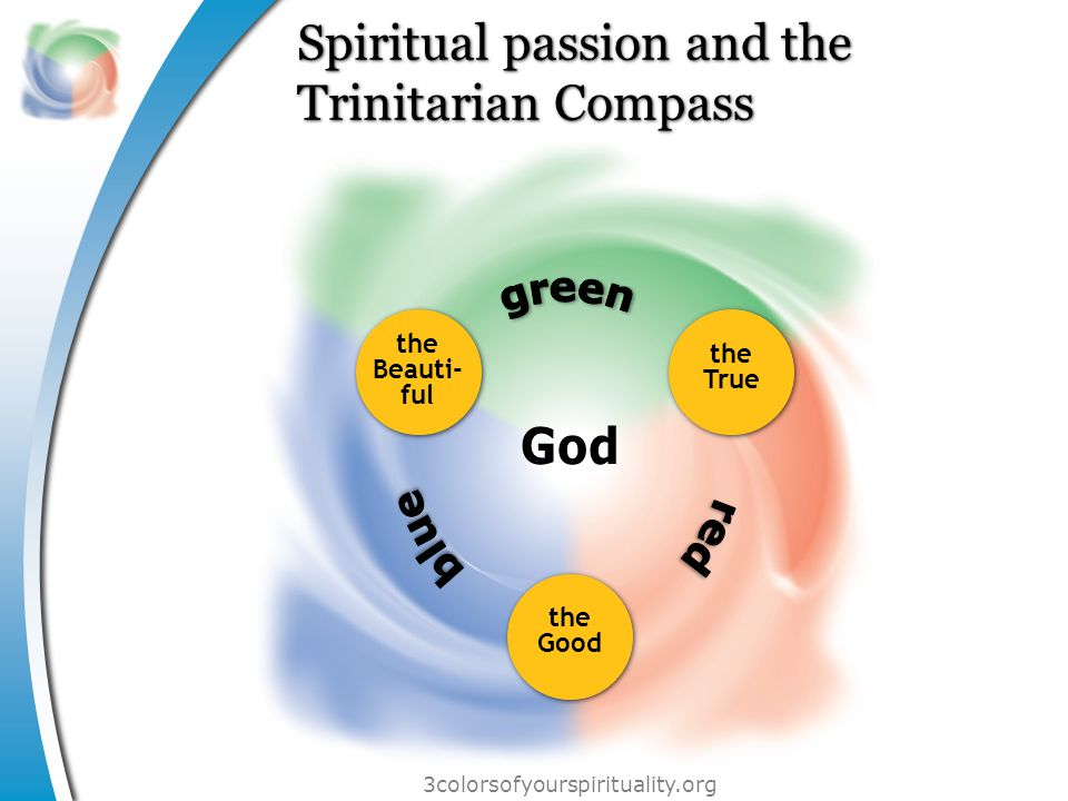 3colorsofyourspirituality.org The perils of each spiritual style sacramental Scripture-driven doctrinal sensory mystical enthusiastic rational sharing ascetic