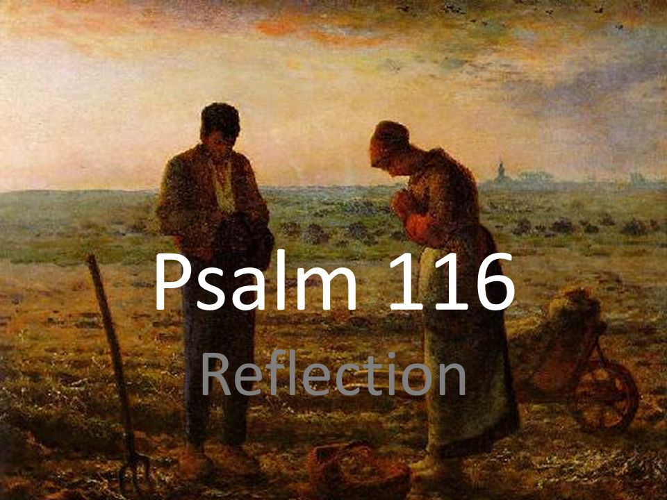 Psalm 116 Reflection