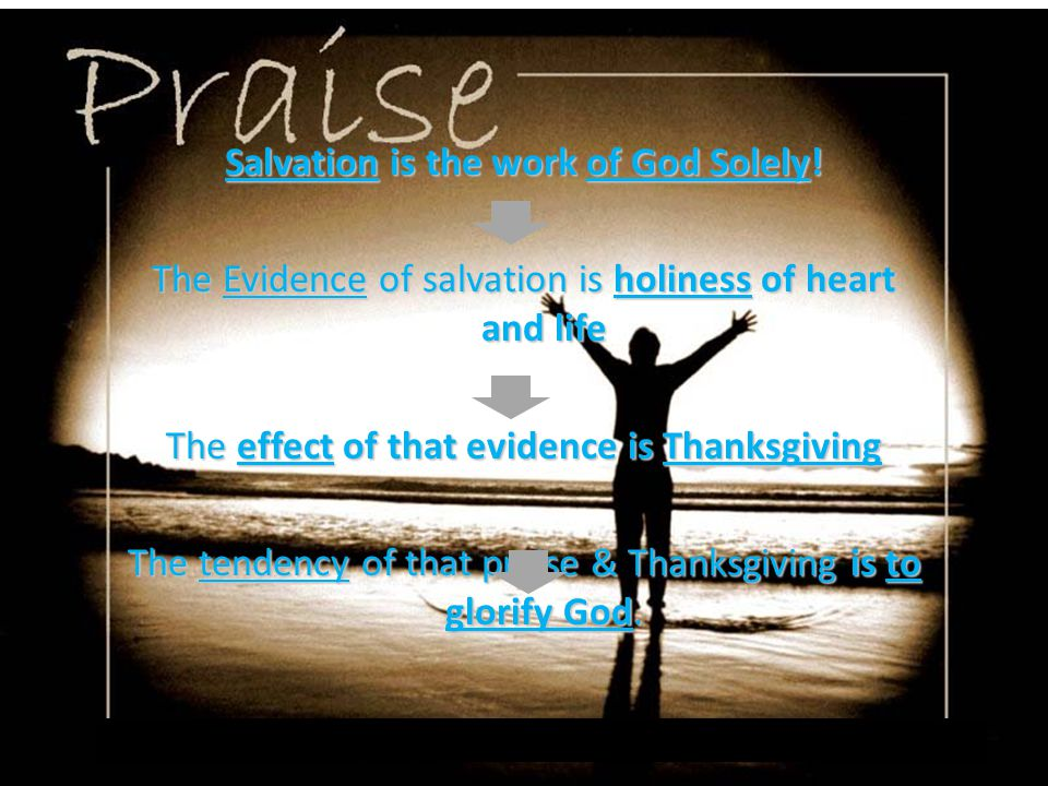 A Unifying Element of Praise - Claus Westermann Petitionary Praise Lament God will act Declarative Praise Thanksgiving/todah God has acted Descriptive Praise Hymn God is God (we know He is God because we cried to Him and He acted) Praise !
