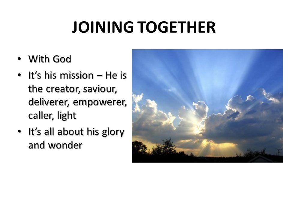 E nabling Change S erving Community V aluing People Discerning God Joining Together in the Transforming Mission of God G R O W I N G D I S C I P L E S E K I N G J U S T I C E