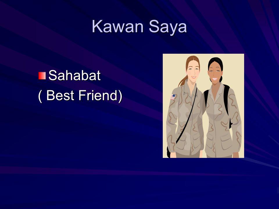 Kawan Saya Sahabat ( Best Friend)