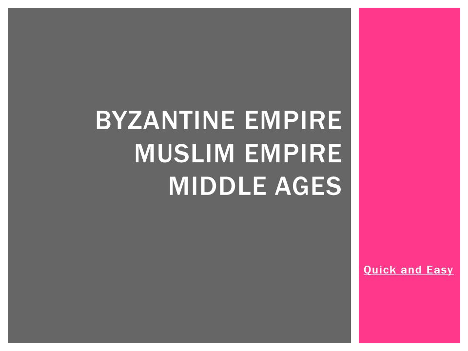 BYZANTINE EMPIRE; THE HIGHLITES Constantine splits the Roman Empire into two sides: Western Empire and the Eastern Empire After the Western Empire falls, the Eastern Empire becomes known as the Byzantine Empire Byzantine Empire flourishes for a 1000+ years after West falls Emperor Justinian comes to power and models the Byzantine Empire after Rome; he helps his empire to flourish by learning from Rome's mistakes.