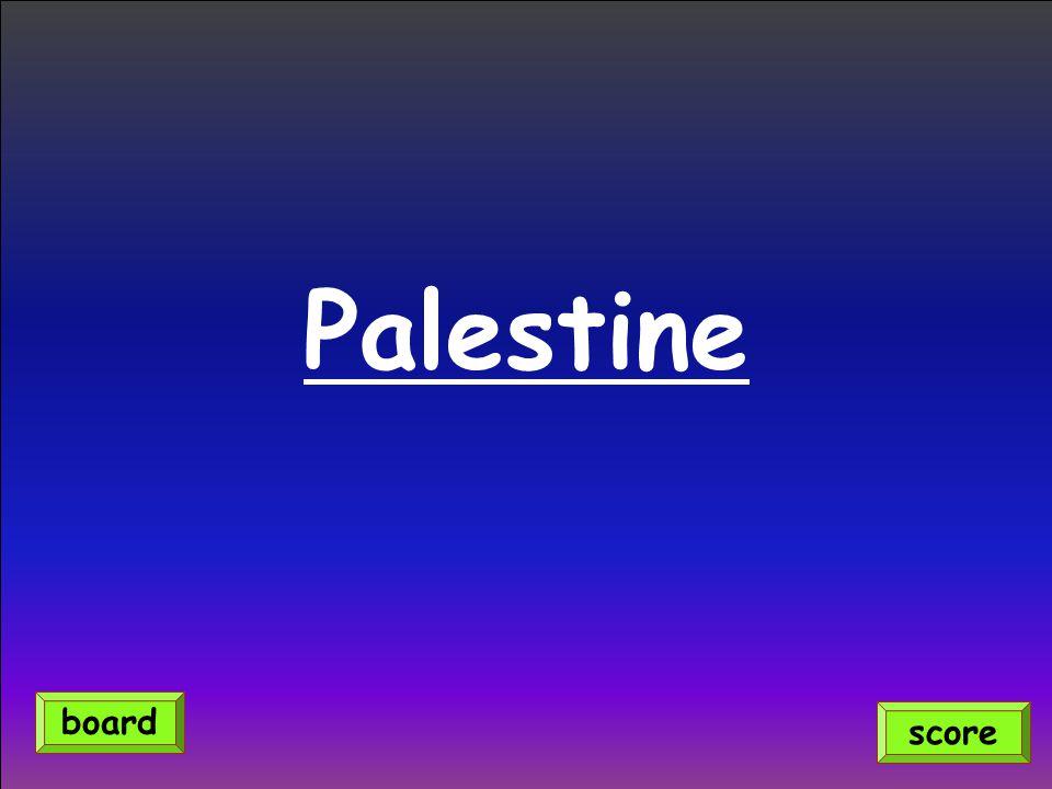 Palestine score board