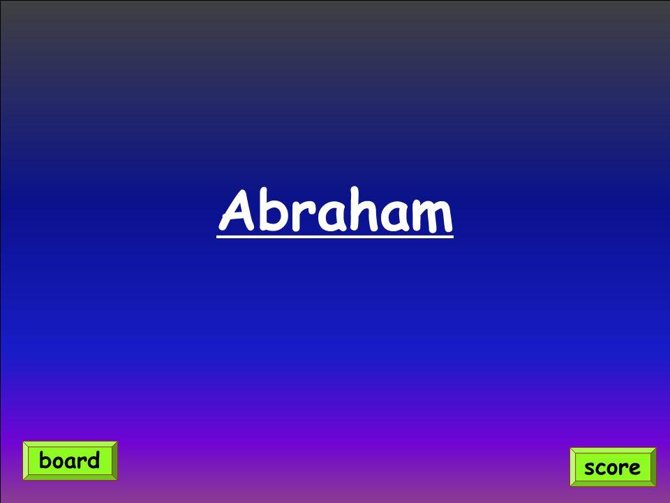 Abraham score board