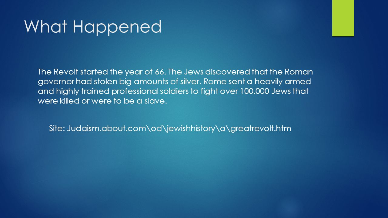 Who were the Leaders Rabbi Yochanan Ben Zakkai was one of the leaders.