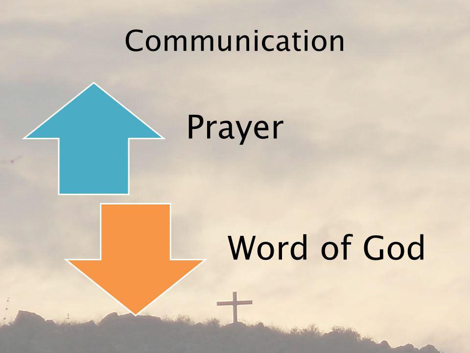 Communication Prayer Word of God