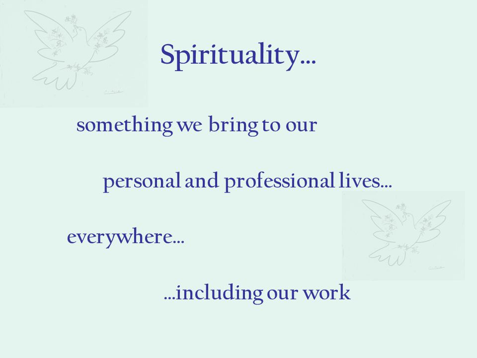 Emphasis on the primacy of personal spiritual experience A world friendly spirituality Understanding of the Christian life as a call to be of help to others Three aspects of Ignatius' spirituality influenced Jesuits' choice of works