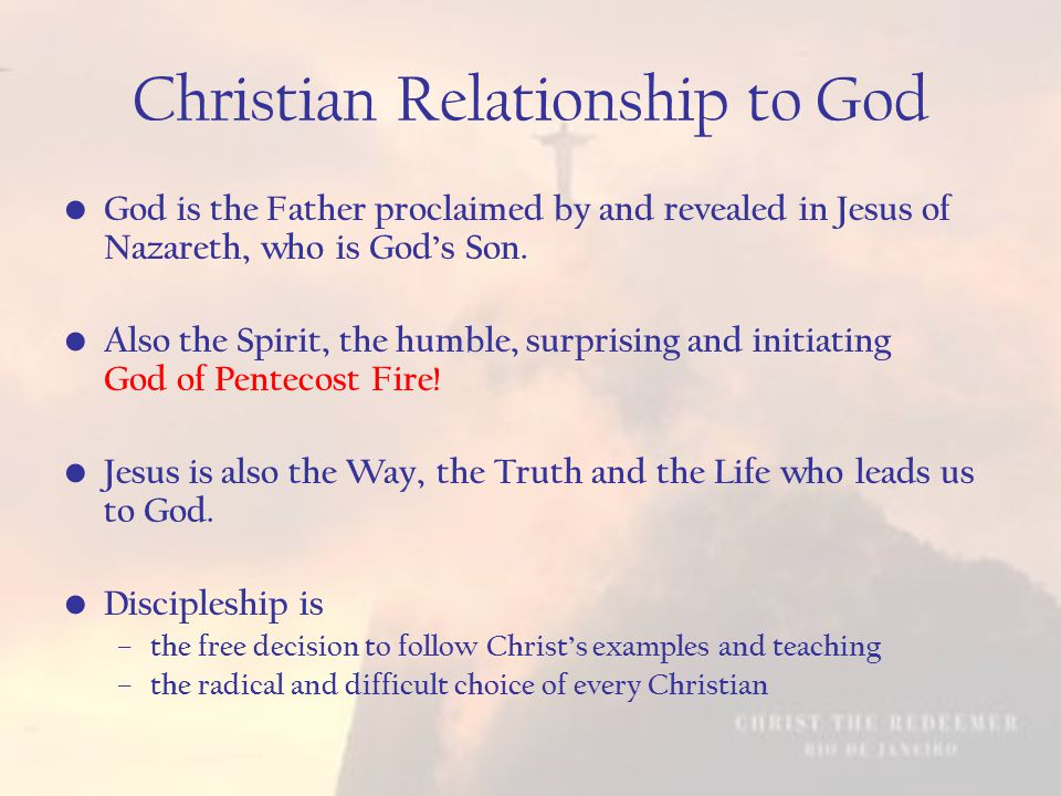 Discipleship… Rooted in the depth of God's love for us and all of humanity.