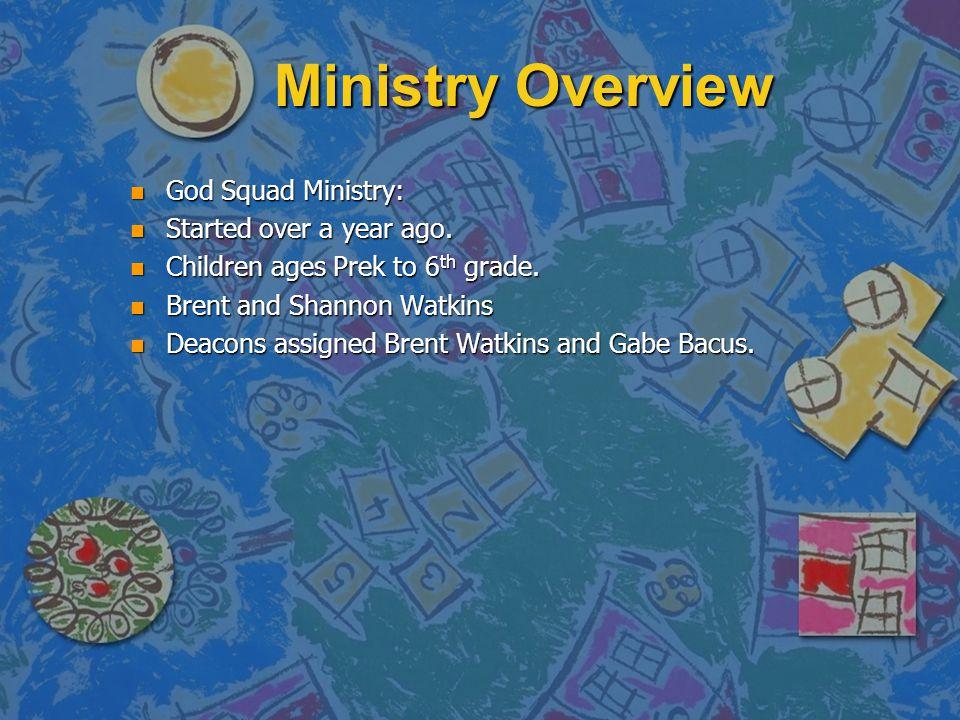 God Squad Children's Ministry Woodward Park Church of Christ