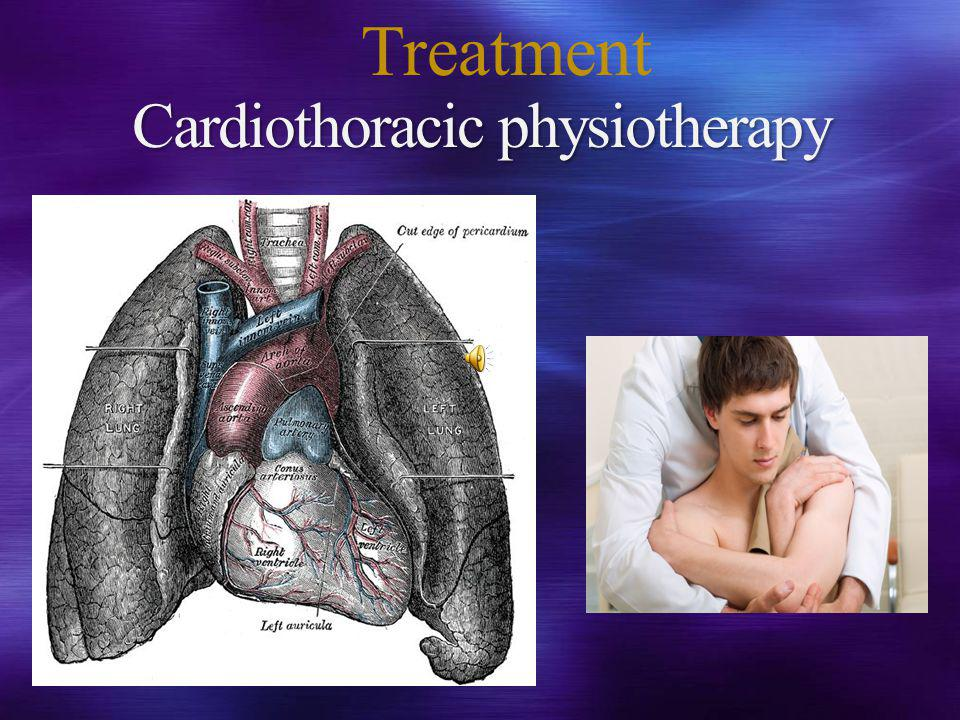 Cardiothoracic physiotherapy Treatment